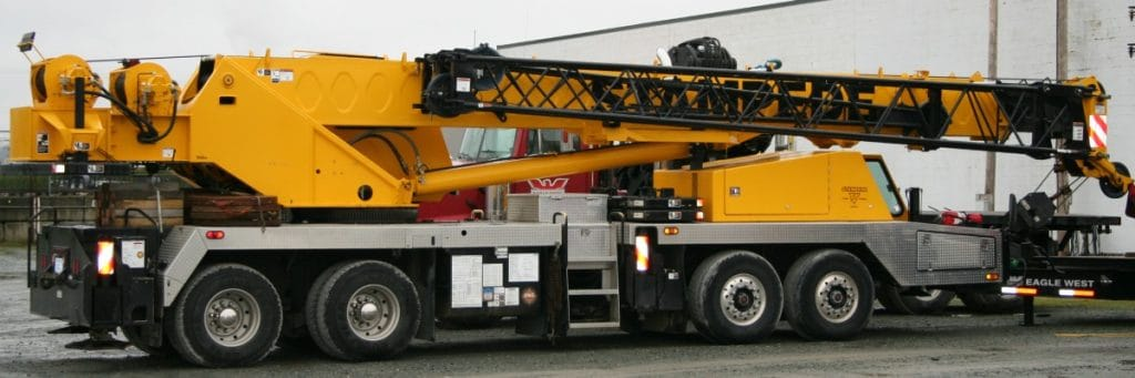 60 Ton Linked Belt Mobile Crane to Service Vancouver
