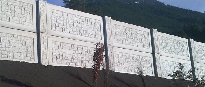 highway sound wall panels