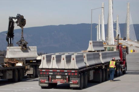 Concrete Barriers Save Lives - Eagle West Cranes