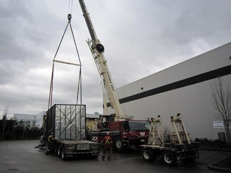 Cranes Work - Eagle West Cranes