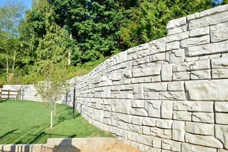 Block Wall - Eagle West Cranes