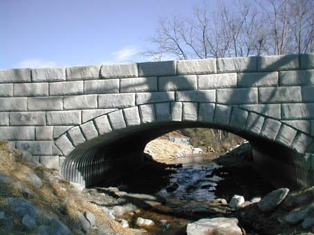 Arch Bridge over Water - Eagle West Cranes
