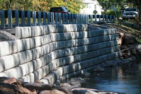 Pond Wall - Eagle West Cranes